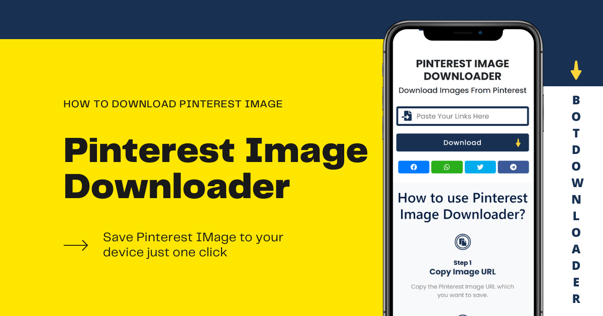 How to Download Pinterest Images Online