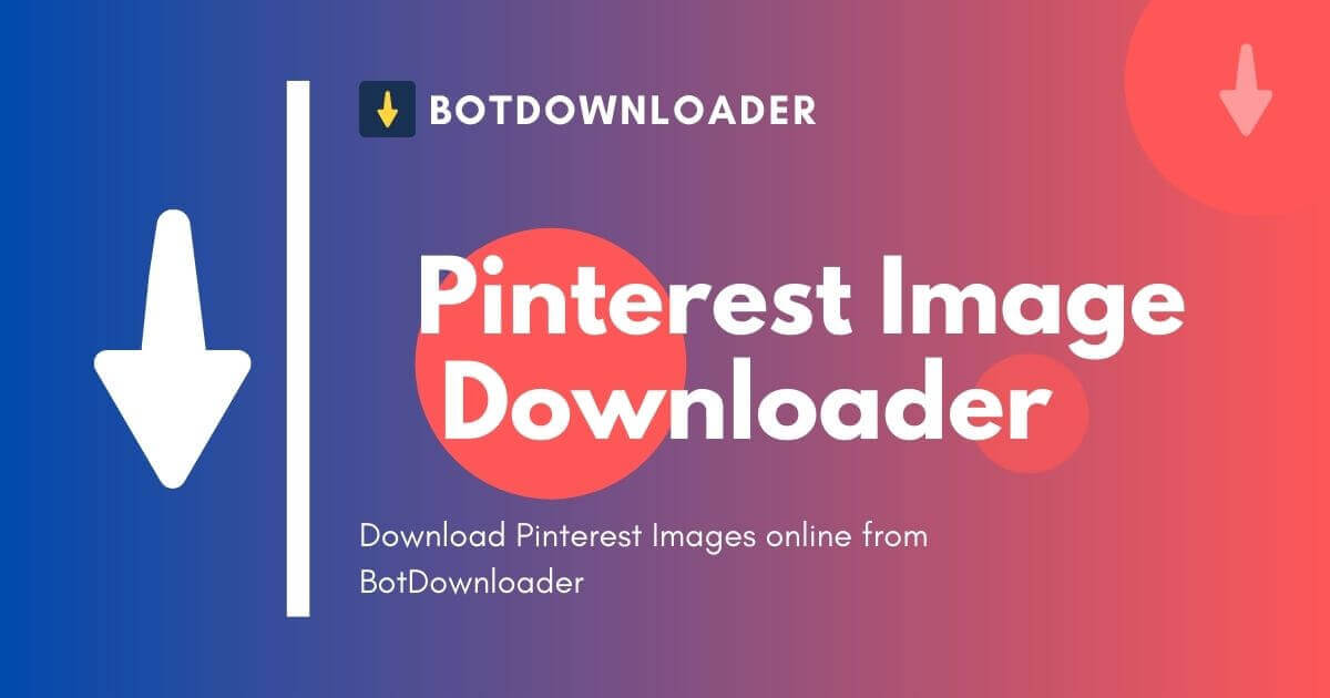 Pinterest Image Downloader