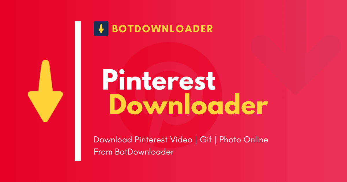 Pinterest Video Downloader